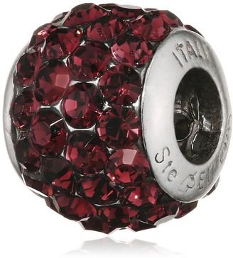 Belli Baci Charm in 925 Silver Swarovski Crystal with Other 314099