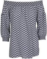 Michael Kors Off Shoulder Blouse