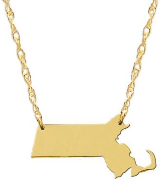 Jane Basch 14K 50 States Necklace