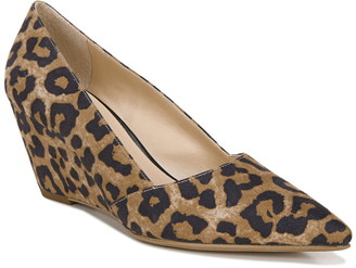 Franco Sarto Pointed Toe Wedge Pump