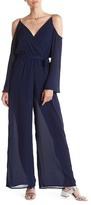 Line & Dot Marais Cold Shoulder Jumpsuit