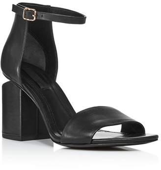 Alexander Wang Women's Abby Utilitarian High Block-Heel Sandals