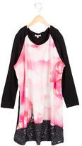 Junior Gaultier Girls' Bubble Print Long Sleeve Dress w/ Tags
