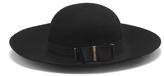 Vince Camuto Banded Wide-Brim Hat
