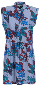 Lee FLORAL DRESS women's Dress in Blue
