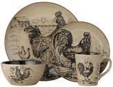 Pfaltzgraff Everyday Homespun Rooster 16-pc. Dinnerware Set