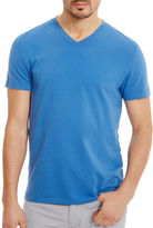 Kenneth Cole V-Neck Solid Cotton Tee