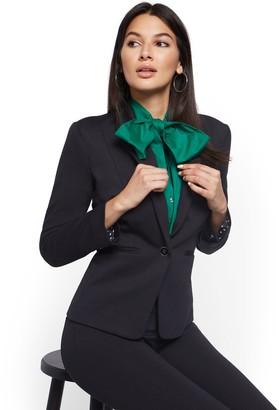 New York & Co. Petite One-Button Jacket - Superflex