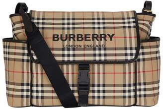BURBERRY KIDS Vintage Check Changing Bag