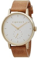 Rip Curl Women's 'Circa Gold' Quartz Stainless Steel and Leather Sport Watch, Color:Brown (Model: A2886G-GOL)