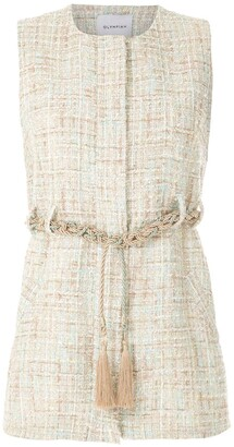 Olympiah Knitted Rope Belted Top