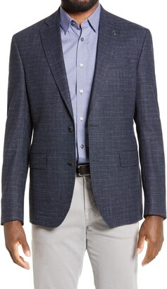 Ted Baker Ralph Extra Trim Fit Check Sport Coat