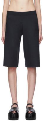 Frenckenberger Green Cashmere Adi Shorts
