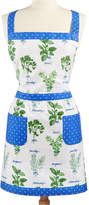 Martha Stewart Collection Hand Picked Herbs Embroidered Apron, Created for Macys