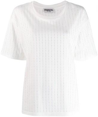 Essentiel Antwerp Diamante Stripe T-Shirt