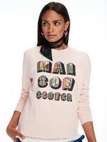 Scotch & Soda Photo Print Artwork Sweater