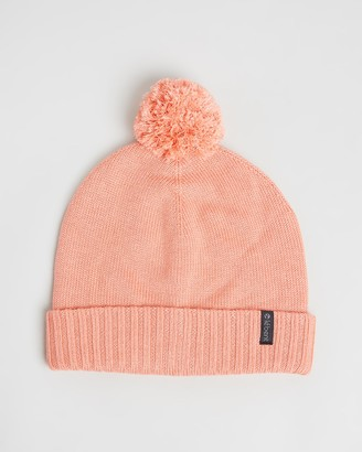 Le Bent - Women's Orange Beanies - Pom Pom Beanie - Size One Size at The Iconic