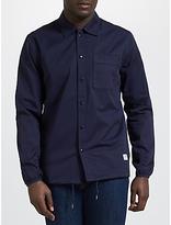 Penfield Blackstone Drawstring Hem Overshirt, Navy