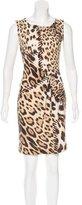 Roberto Cavalli Sleeveless Mini Dress