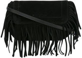 L'Autre Chose fringe shoulder bag - women - Leather - One Size