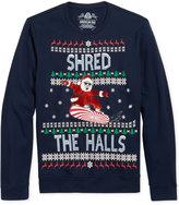American Rag Men's Shred the Halls Sweatshirt, Only at Macy's