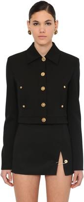 Versace Short Wool Cloth Jacket
