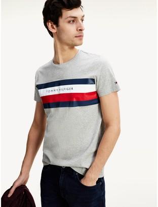 Tommy Hilfiger Organic Cotton Bar Stripe T-Shirt