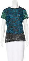 Proenza Schouler Zebra Burnout T-Shirt