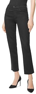 J Brand Adele Straight-Leg Ankle Jeans in Vesper Noir