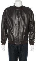 Salvatore Ferragamo Reversible Leather Jacket