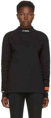Heron Preston Black Style Long Sleeve T-Shirt