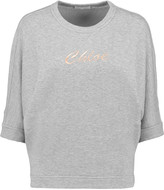 Chloé Embroidered cotton-jersey sweatshirt