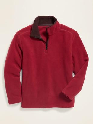 Old Navy Go-Warm Micro Performance Fleece 1/4-Zip Pullover for Boys