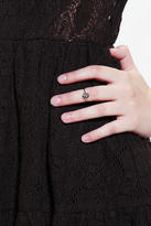 Urban Outfitters Moon & Star Druzy Midi Ring