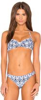 Shoshanna Caspian Ikat Halter Bikini Top