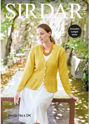 Sirdar No.1 Chunky Baby Jacket, Jumper and Accessories Knitting Pattern, 5187