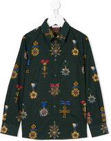 Dolce & Gabbana medal print shirt