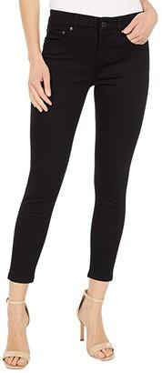 Lauren Ralph Lauren Petite Premier Skinny Ankle Jeans (Perfect Black Wash) Women's Jeans