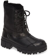 Rag & Bone Waterproof Duck Boot with Genuine Shearling Lining