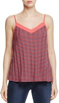 Three Dots Chevron Stripe Tank