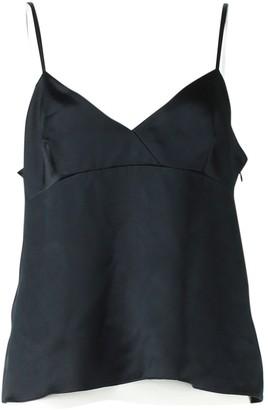 Valentino Red Black Silk Tops