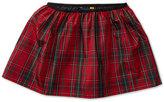 Ralph Lauren Plaid Taffeta Skirt, Big Girls (7-16)