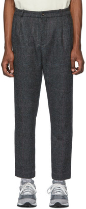 Aimé Leon Dore Grey Wool Tweed Trousers