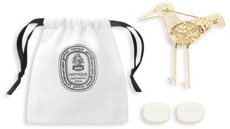 Diptyque Prets-a-Parfumer Eau Rose Refillable Pre-Perfumed 4-Piece Disk Set