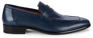 Mezlan Newport Leather Loafers