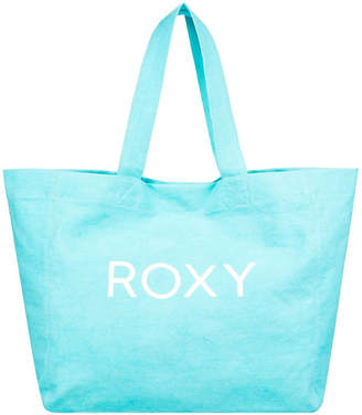 Roxy Anti Bad Vibes 25L Large Canvas Tote Bag