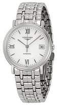 Longines Les Grand Classic Presence Automatic Transparent Case Back MEN'S Watch
