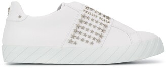 Philipp Plein Star Studded Low-Top Sneakers