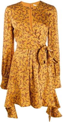 Jonathan Simkhai printed ruffle dress
