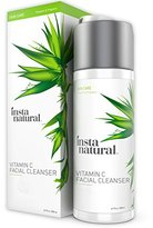 Alöe InstaNatural Vitamin C Facial Cleanser - Anti Aging, Breakout & Wrinkle Reducing Face Wash for Clear & Reduced Pores - With Organic & Natural Ingredients - For Oily, Dry & Sensitive Skin - 6.7 OZ
